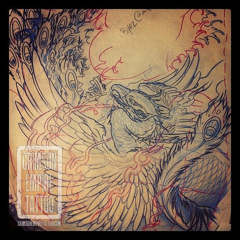 Phoenix sketch by Jared Phair