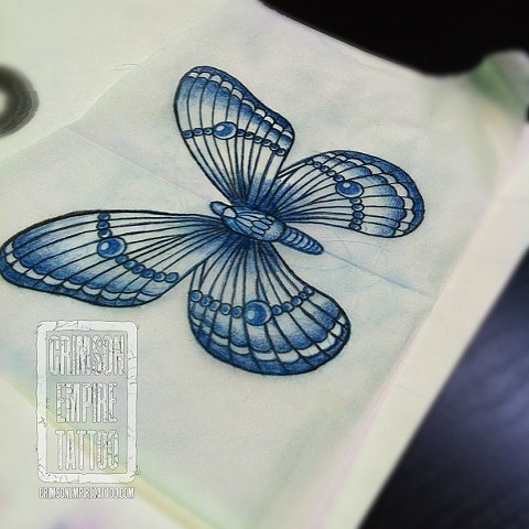 Butterfly Sketch by Jessica Doyle