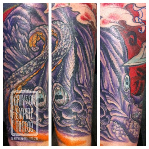 Octopuss Sleeve by Jared Phair