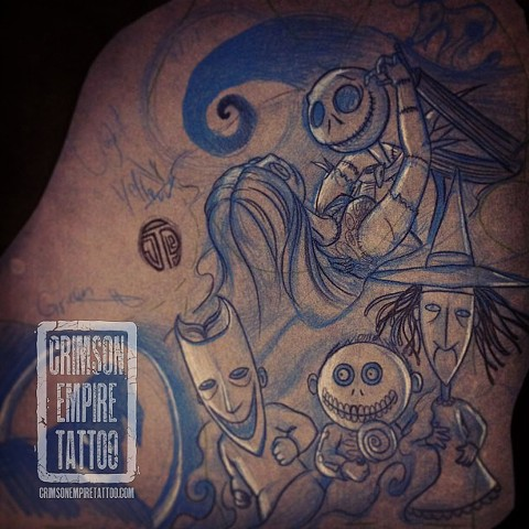 Nightmare before Christmas Sketch by Jared Phair