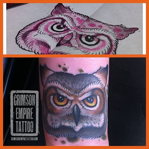 Owl Coverup by Curt Semeniuk