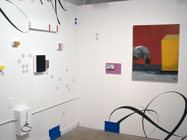 Ken Nurenberg, contemporary, painting, installation, site specific