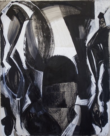 #oilpainting #paint# art #tedstanuga #chicagoart #interiors #architecture #interiordesign #abstract #intuitive #drawing #charcoal  On canvas expressionist, contemporary, modern,