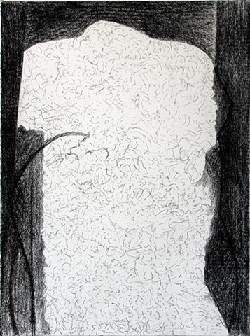 Ted Stanuga Fine Art, Drawing on Paper, Compressed Charcoal, Figure, Contemporary Art, Abstract