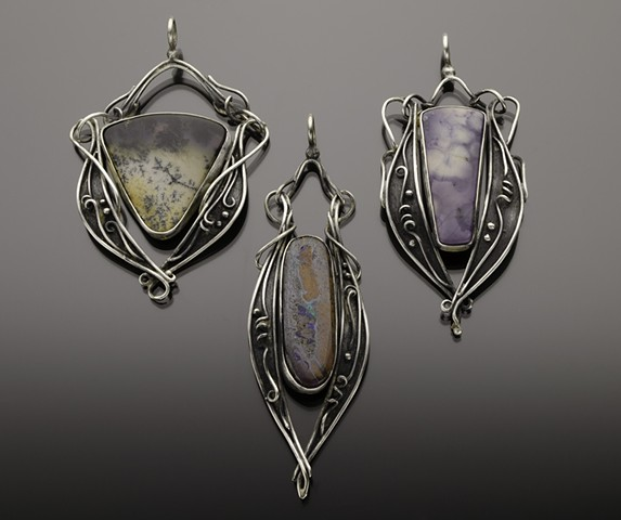 Trio of Pendants