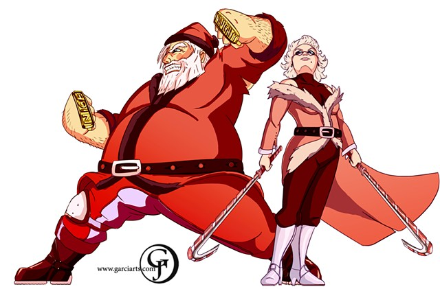 Mr. and Mrs. Clause