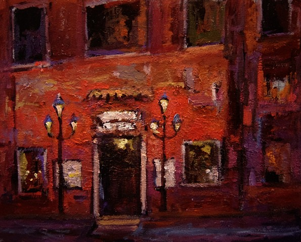 Venice, Paintings of Venice, restaurants, paintings of Italy, original oil paintings, R. W. Bob Goetting paintings