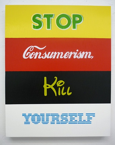 stop consumerism, kill yourself (please)