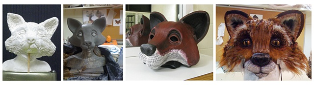 Brer Wood fox mask
