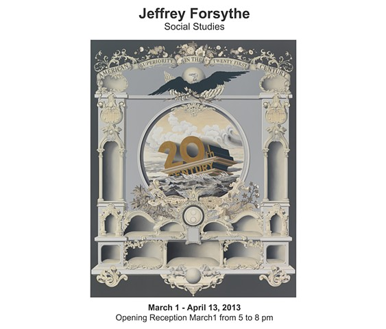 Jeffrey Forsythe:  Social Studies March 1 - April 13, 2013