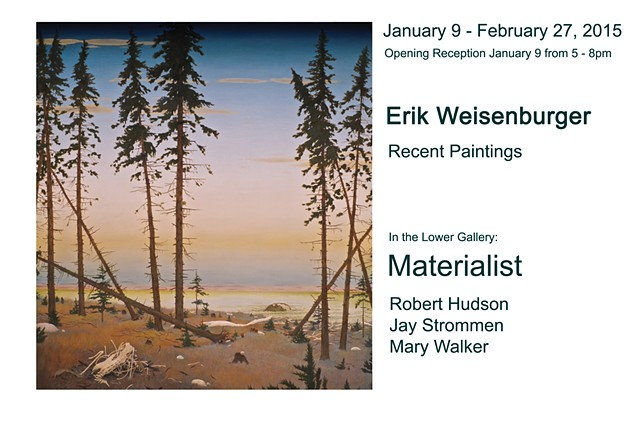 Jan 9 - Feb 27, 2015 - Erik Weisenburger: Recent Paintings
