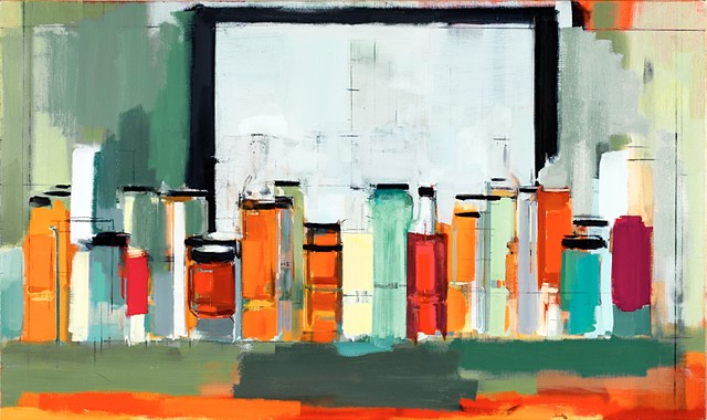 Peri Schwartz Bottles and Jars XXXIV