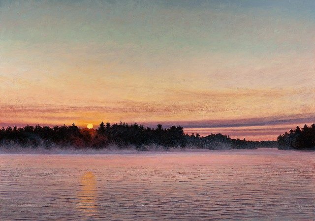 Jeff Aeling Sunrise and Mist