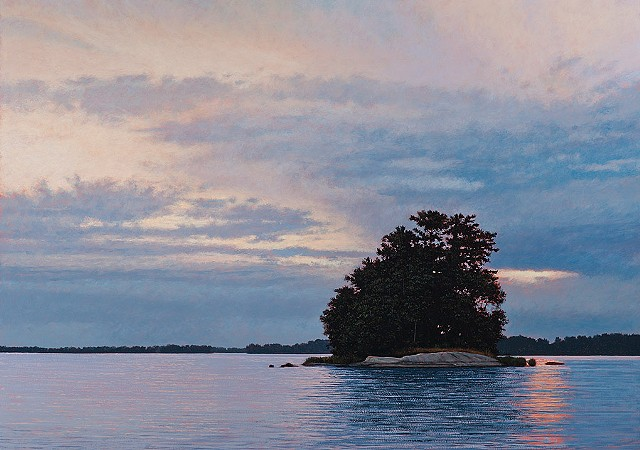 Jeff Aeling Island at Dusk