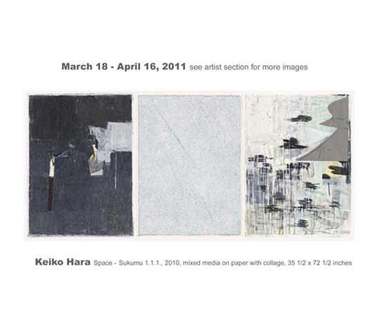 Keiko Hara March 18 - April 16, 2011