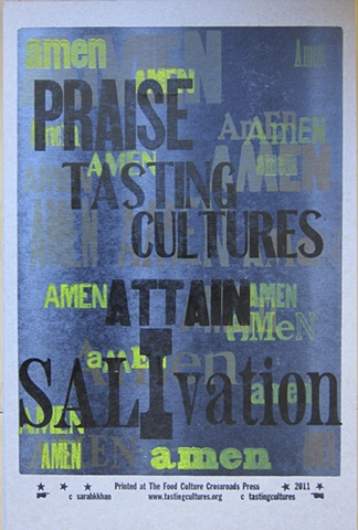 Praise Tasting Cultures, Attain Sal-I-vation