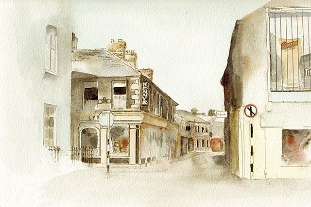 clonmel, ireland, limited edition,local scene, station, emigration home