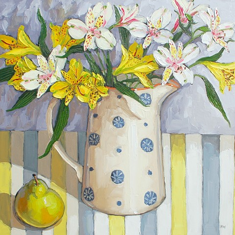 Sunshine bouquet with pear