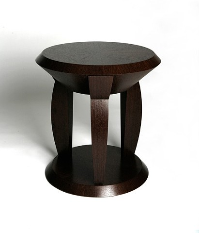 Custom Wenge Side Table