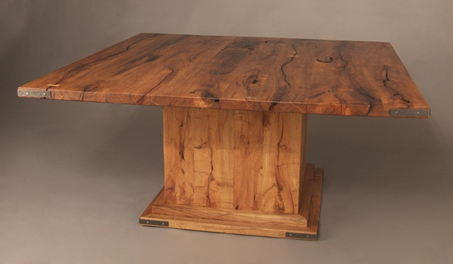 Exterior Mesquite Dining Table