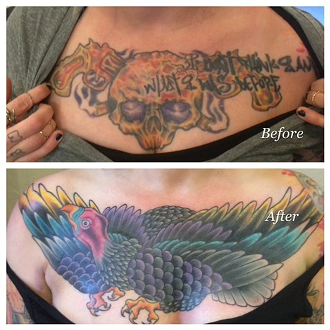 big ass vulture cover-up