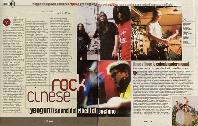 Musica, la Repubblica, January 2002