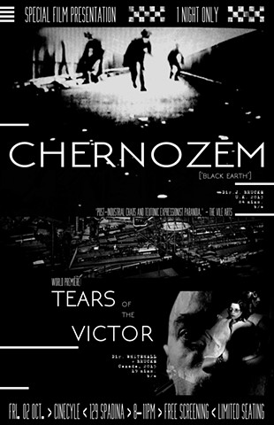 ///// Film Poster for 'TEARS OF THE VICTOR'/'CHERNOZEM' double-bill