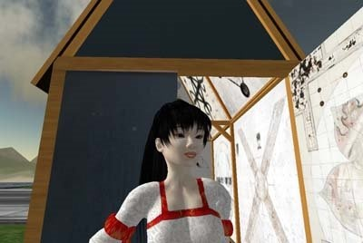 Xin in front of House | Second Life