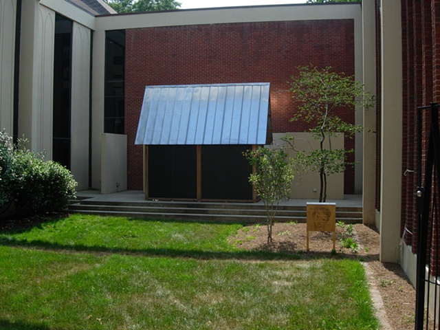 Xin's House | Outside Dalton Gallery | Agnes Scott College