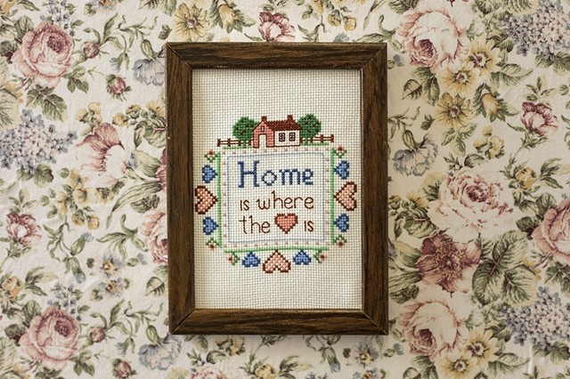 """Home is where the heart is."""