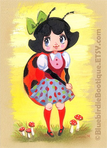 Spotty The Ladybug