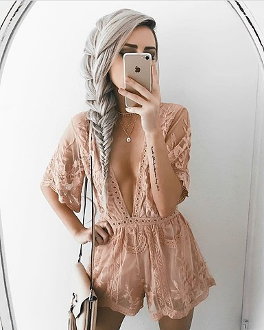 Summer '17 - lace romper