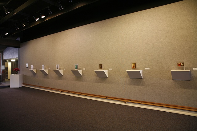 Leeds Gallery Installation, Earlham College, Richmond, Indiana