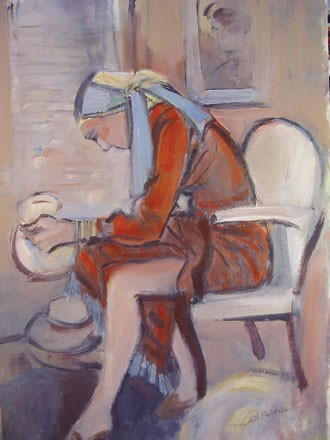 029 Woman With Jug