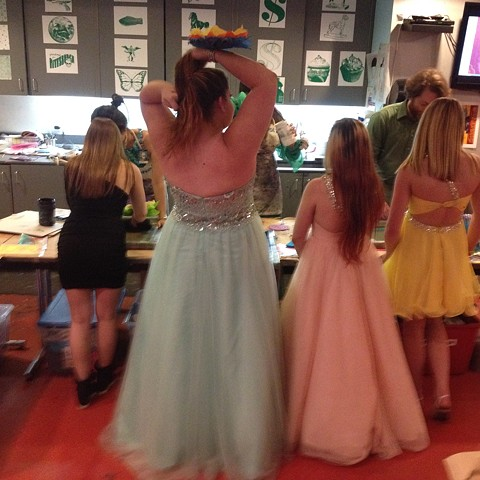 "The Andy Warhol Museum Youth Pride Prom ""There is no place like Candy Land"""