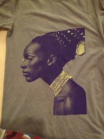 The Warhol Museum Naomi Simms T shirt made in The Factory