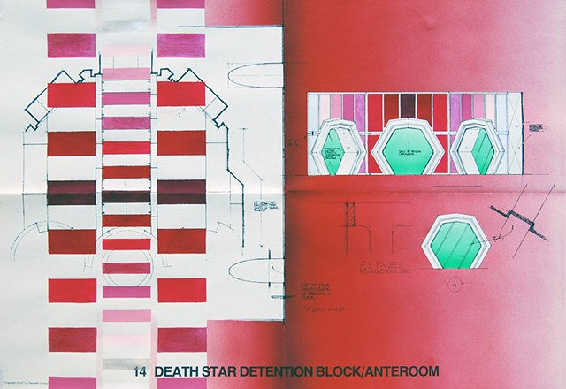 Death Star Detention Block Anteroom