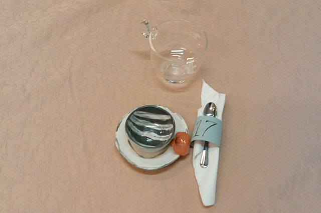 tableware, ceramic, installation, art