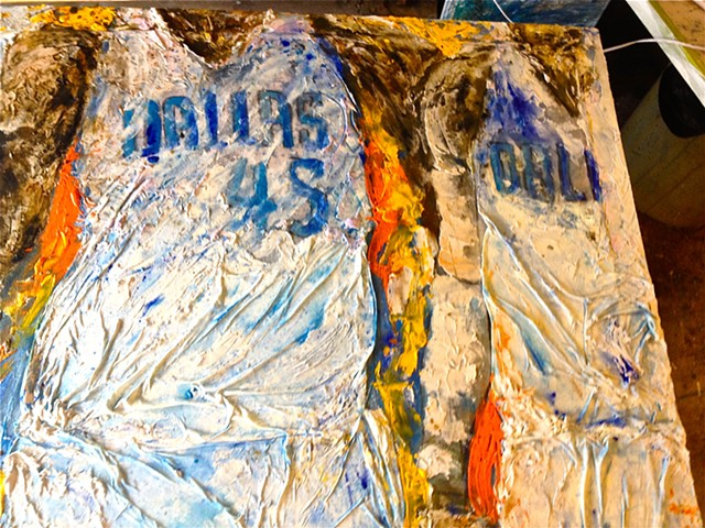 Dallas Mavericks Donation Art