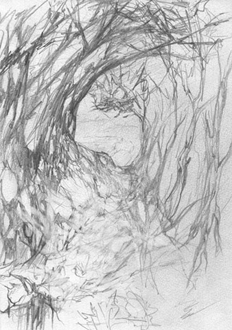 Forest Tunnel sketch