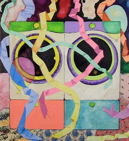 Lisa Fulton, Washer and Dryer with Streamers