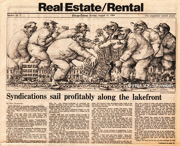 Syndications sail profitably along the lakefront, Real Estate/Rental Section, Chicago Tribune