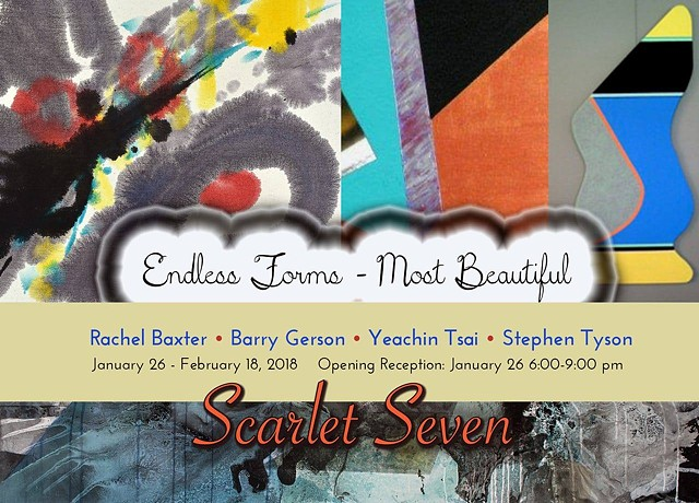Endless Forms Most Beautiful - January 26 - February 18, 2018