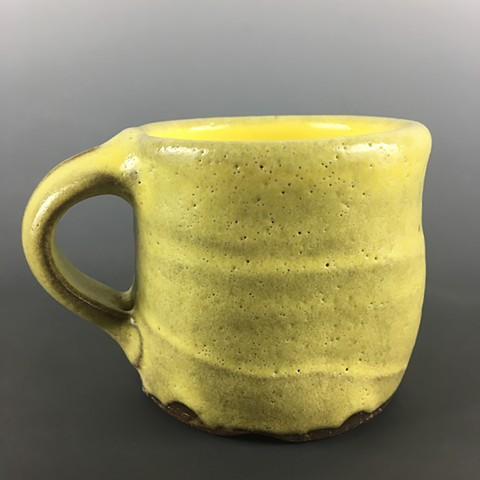 Banana Yellow Cup