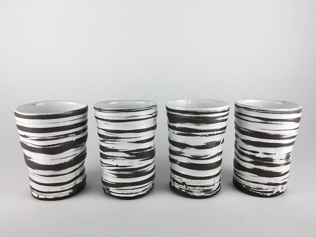 Ringed Striped Tumblers