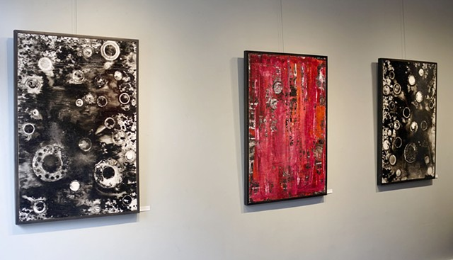 Nuts & Bolts + Pragmatic Painting (Installation shot)