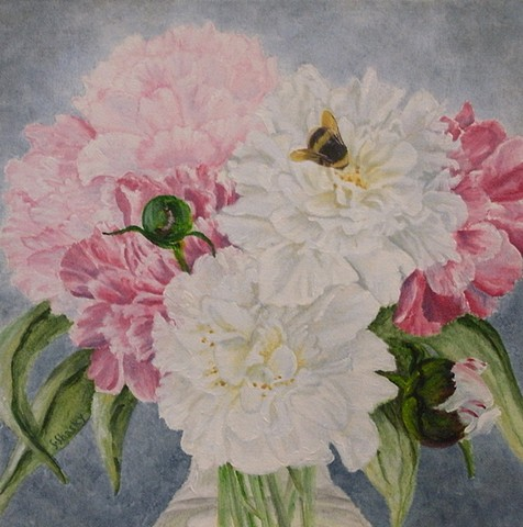 Peonies -Sold-
