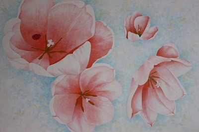 Barbara's Tulips -Sold-