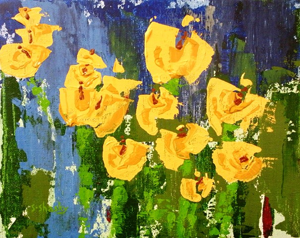 Naples Tulips -Sold-