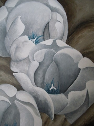 White Tulips -Sold-